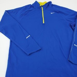 Nike//Dri-Fit pull over Half Zip Closure